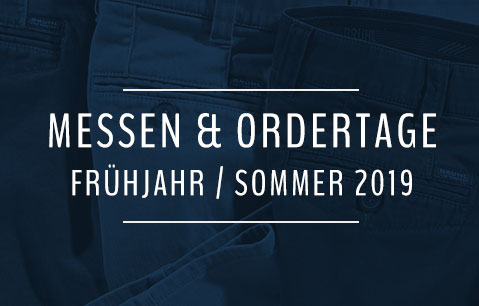 Messen & Ordertage F/S 2019