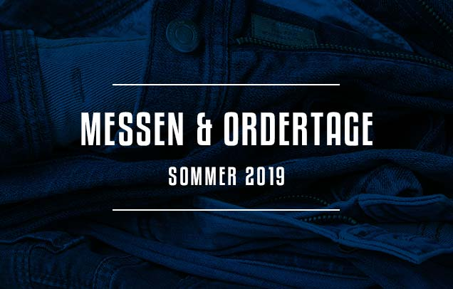 Messen & Ordertage Sommer 2019